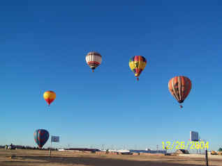 Hot Air Balloon Flight Oklahoma City 26 Dec 2004